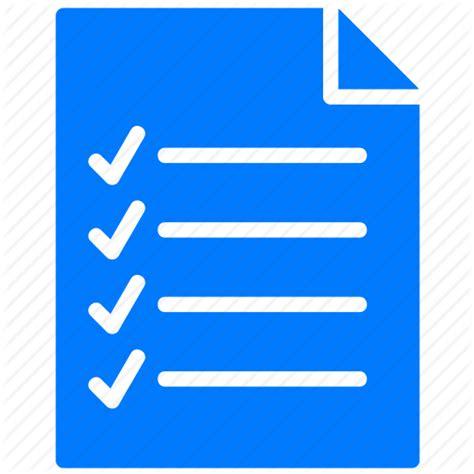 Blus List checklist icon blue www imgkid the image kid has it