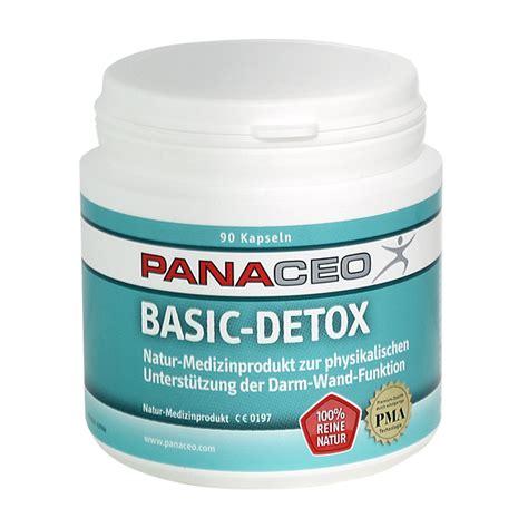 Detox Basics Natures by Panaceo Detox Basic 90 Kapseln Orthocell Ag