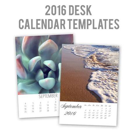 2016 Desk Calendar Easy To Customize 2016 Desk Calendar Templates April Bern