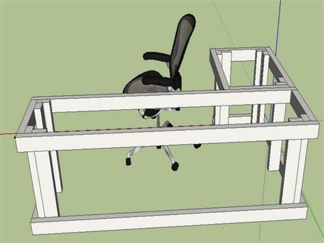 diy l shaped desk l shaped desk plans diy search projects