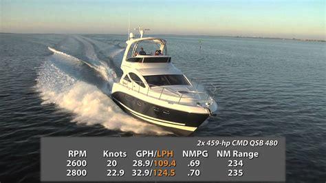 sea ray boat test videos sea ray 450 sedan bridge 2012 express cruiser review