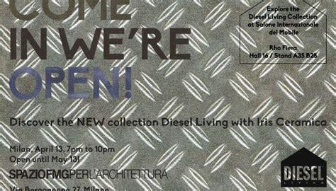 Diesel Living and Iris Ceramica at Design Week Milano