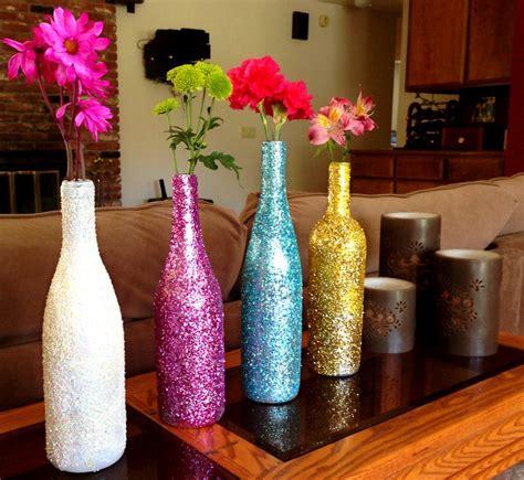 apartment decor diy painted glass vases creative diy apartment decorating ideas
