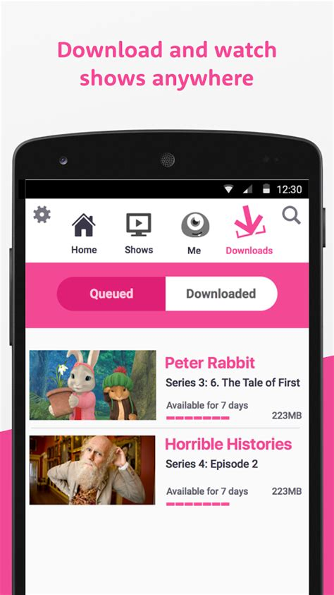 iplayer android app programmes the launches the iplayer app for smartphones and tablets talkandroid