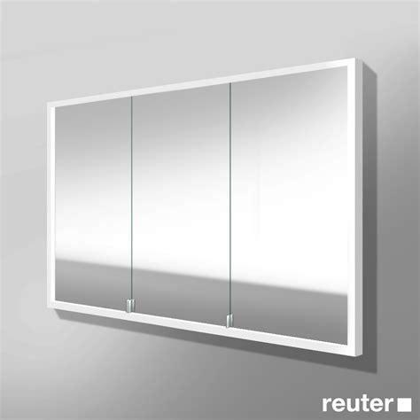 spiegelschrank wandeinbau burg crono led spiegelschrank f 252 r wandeinbau mit 3 t 252 ren