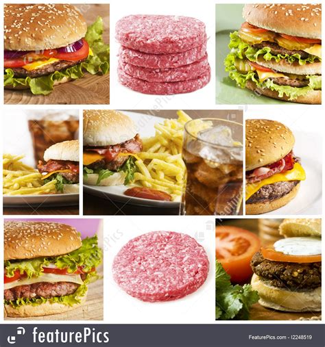 Food Fast Food Collage Stock Picture I2248519 At Fast Food Collage