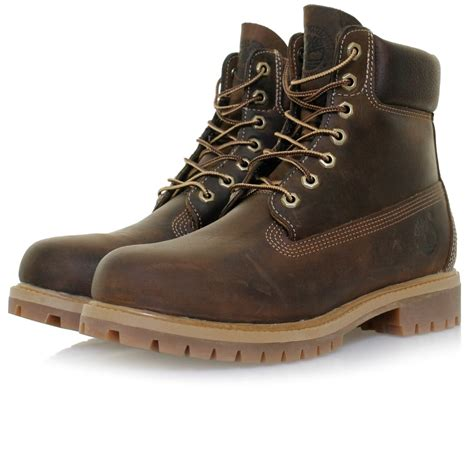 timberland af 6 in anniversary brown boots
