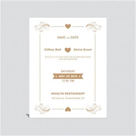 Kostenlose Vorlage Einladung Hochzeit Einladung Vorlage Vektoren Fotos Und Psd Dateien Kostenloser