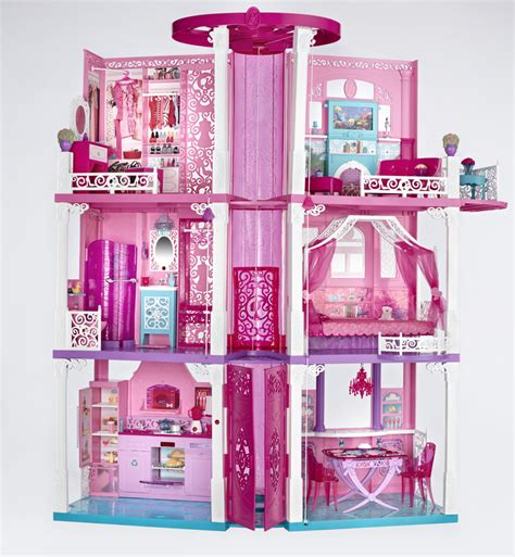barbie dreamhouse doll house living large at the barbie dreamhouse clever housewife