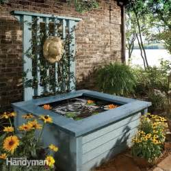 diy backyard pond ideas above ground pond ideas images
