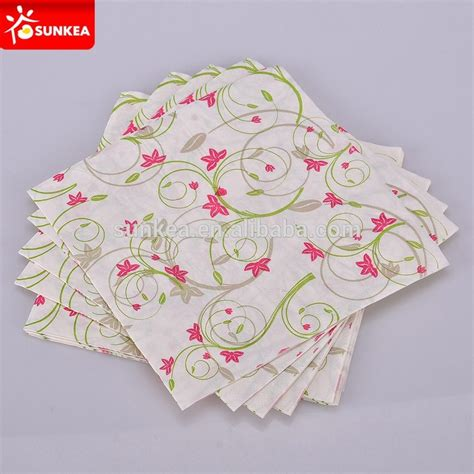 2 ply embossed disposable paper decoupage napkin buy