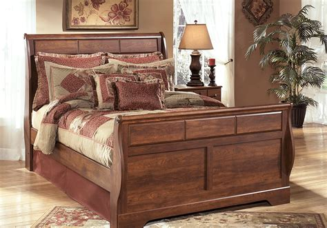 sleigh bedroom sets queen timberline queen sleigh bedroom set evansville overstock