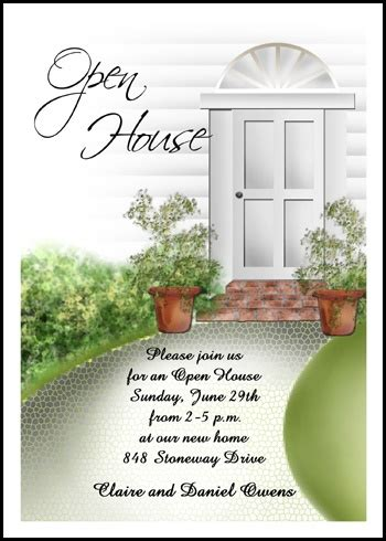 open house party open house party invitation wording cimvitation