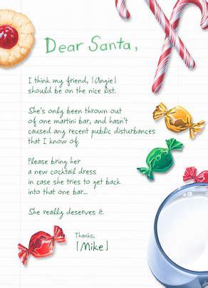Dear Santa Card Template by Dear Santa Card Cardstore