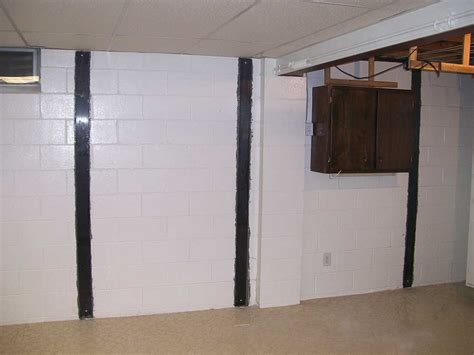 carbon fiber basement wall straps 3 brothers waterproofing foundation repair
