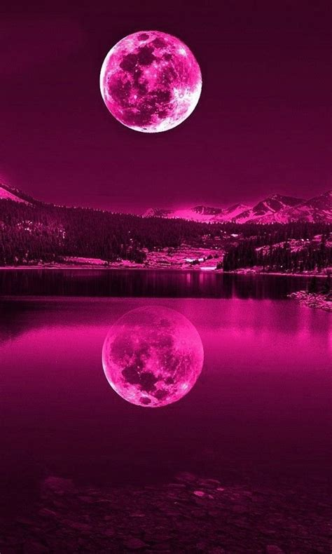 Moon Pink free pink moon jpg phone wallpaper by twifranny