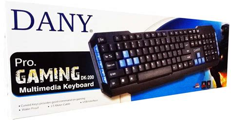 Keyboard Gaming 200 Ribuan keyboards dany dk 200 pro gaming keyboard was sold for