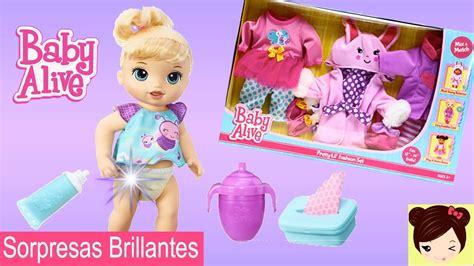 baby alive gatea mu 241 eca baby alive sorpresas brillantes accesorios y ropa