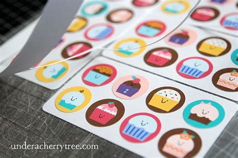 How To Make Stickers Out Of Paper - 12 best images about uact diy stickers on