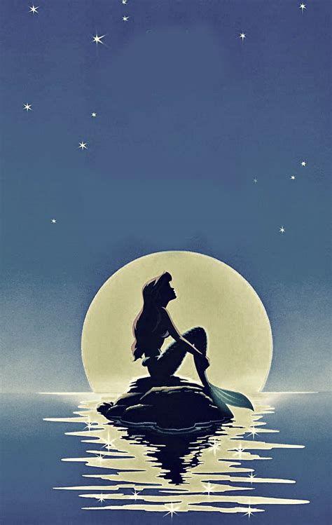 disney wallpaper tumblr iphone 6 the little mermaid possibly paint this for my new room