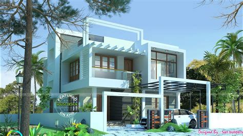 home designes 2018 selected 20 beautiful home elevation designs 2018 kerala home designs contemporary model