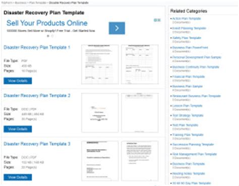 Disaster Recovery Plan Templates Hipaa Disaster Recovery Plan Template