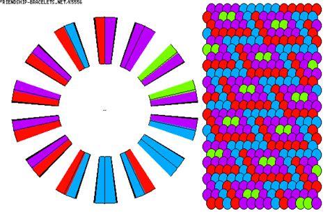 zigzag kumihimo pattern k5556 friendship bracelets net