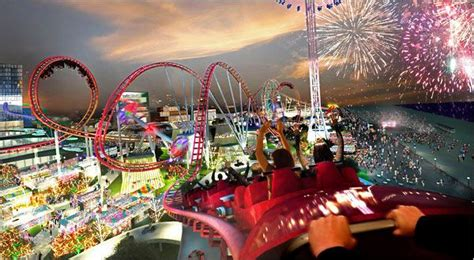 theme park new york city offers coney island plan that conflicts with a