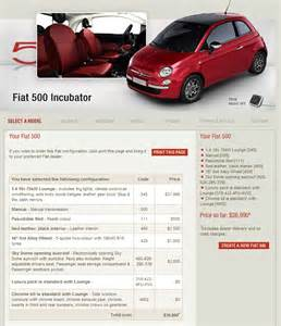 What Is The Length Of A Fiat 500 View Of Fiat 500 1 4 Mt Lounge Photos Features