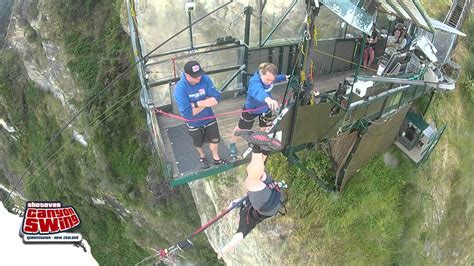 shotover swing shotover canyon swing youtube