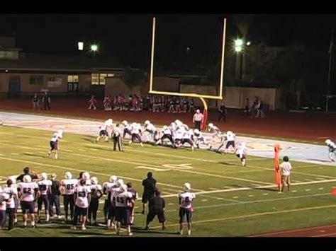 cajon high school football 2012 santana high school sultans vs el cajon valley high