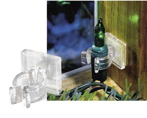 christmas mini lights fasteners lights mini light adhesive clip 100 pack
