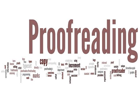 Rate For Editing Thesis by Proofreading Services Rates