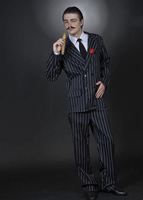 Mens Halloween Gomez Addams Style Costume Adult Gomez