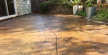 concrete stain colors for patios concrete stain and sealer patio makeover cheng concrete
