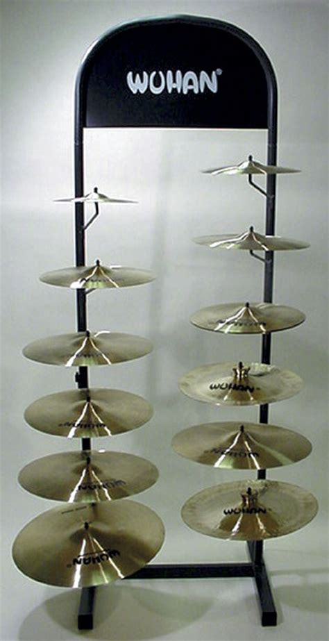 Cymbal Display Rack by Wuhan Cymbals Cymbal Tree S Series Cymbal Collection