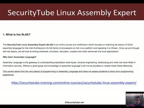 assembly tutorial x86 linux course introduction x86 assembly language and