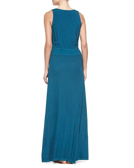 Malin Maxi splendid marlin sleeveless v neck maxi dress