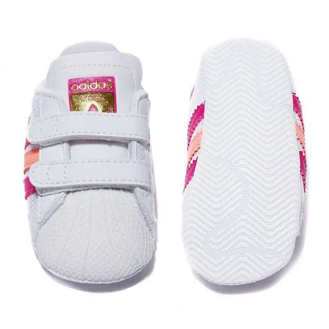 adidas originals superstar shelltoe baby girls white