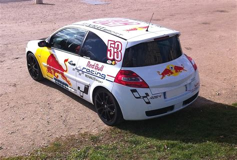 Stickers Red Bull Megane Rs by La Nouvelle Clio 3 Rs2 Serie Limit 233 E Red Bull Page 2