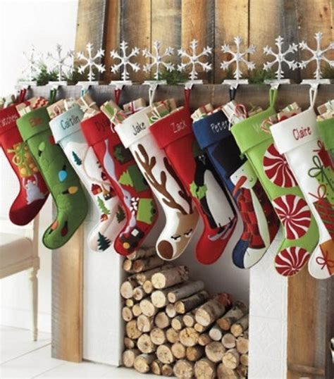 christmas stocking ideas 40 christmas stockings and ideas to use them for d 233 cor