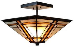 craftsman style ceiling light amora lighting style mission 2 light semi flush