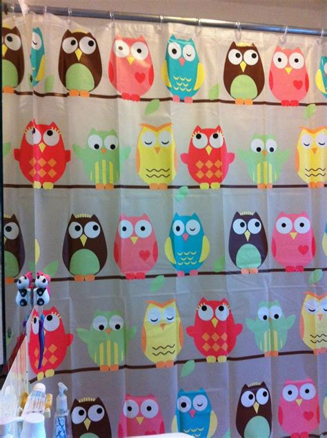 owl shower curtains owl shower curtain owls they are just so darned cute