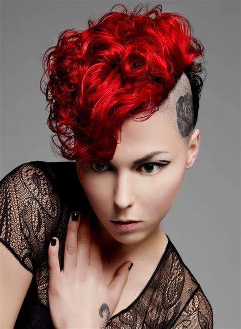 hairstyles hair colours punk hair dye red hair color 2013 2013 haircuts