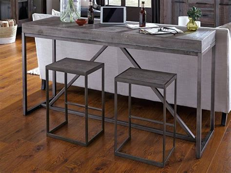 Entryway Table With Stools Underneath by Console Table With Stools Chic Foyer Features A Basket And