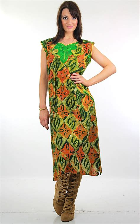 Tribal Boho Oby Dress 1 patchwork dress floral embroidered color block silk festival bohemian