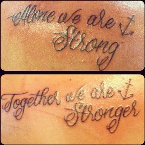 mine and my cousins tattoos colby case tattoos