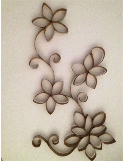 imagenes de flores con tubos de papel bao ideas divertidas para reciclar los tubos de papel