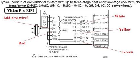 rheem thermostat wiring diagram wiring diagram with
