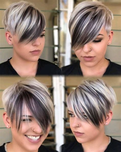 funky hair color for artsy older women 526 best images about cute short hair on pinterest